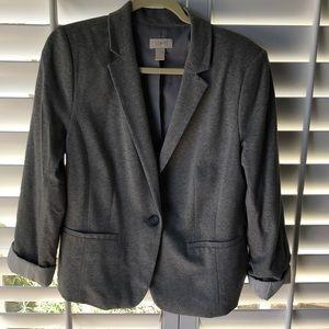 LOFT Blazer Gray Large soft and stretchy
